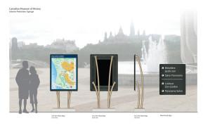 Museum Exterior Wayfinding Planning