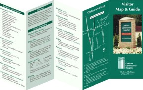 Healthcare Wayfinding - Hand-Held Map