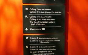 Museum Wayfinding - Main Directional Sign