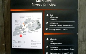 Museum Wayfinding - You Are Here Map