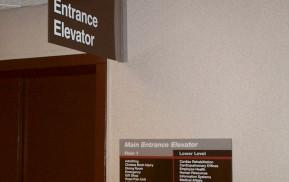 Hospital Signage - Floor Guide