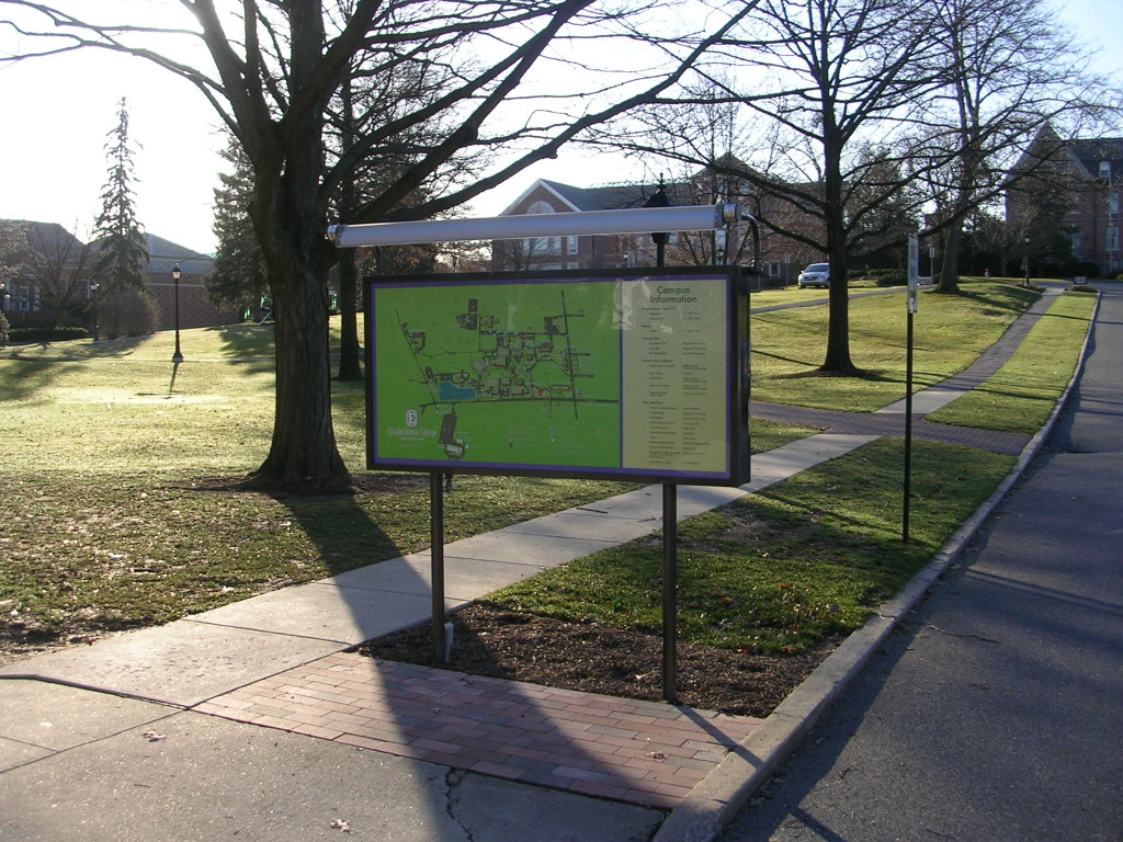 Wayfinding You Are Here Maps Elizabethtown College