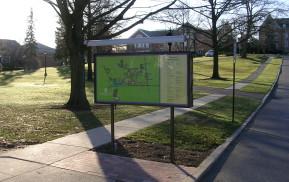 Campus Exterior Signage Map
