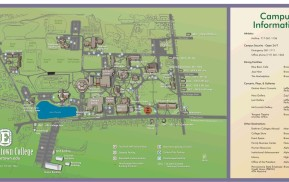 Campus Wayfinding - You Are Here Map