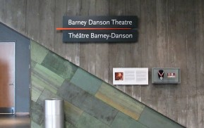 Museum Wayfinding - Theater Entrance