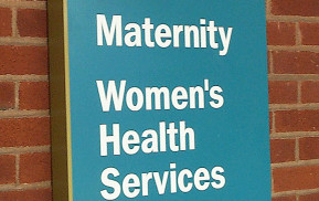Hospital Signs - Exterior Maternity