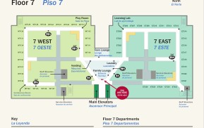 Hospital Wayfinding - You Are Here Map