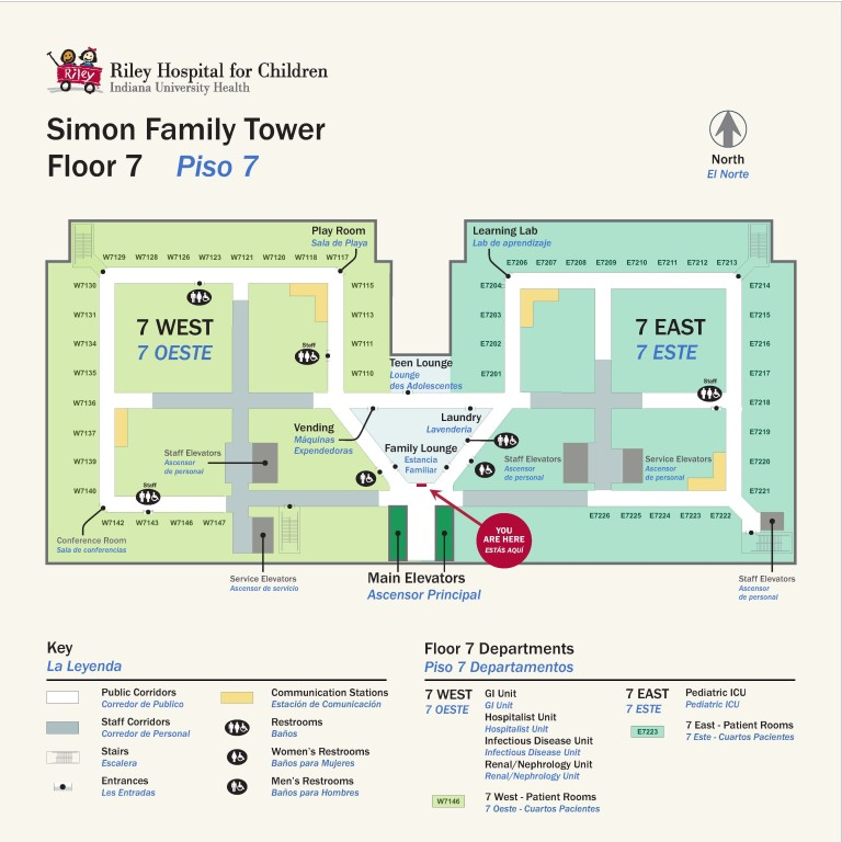 Wayfinding in Hospitals and Parking Garages - Indiana