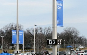 Airport Exterior Signage - Banners