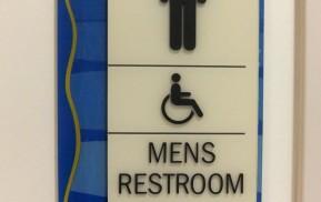 Hospital Signage - Restrooms