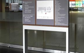 Hospital Wayfinding - You Are Here Signage